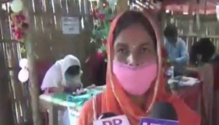 VIDEO: कोरोना संकट काल में गांव की महिलाएं भी बनीं आत्मनिर्भर, घर बैठे ऐसे कर रहीं कमाई