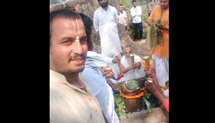 Ayodhya Rudraabhishek of Shivling situated at Kuber ka Teela after 28 years