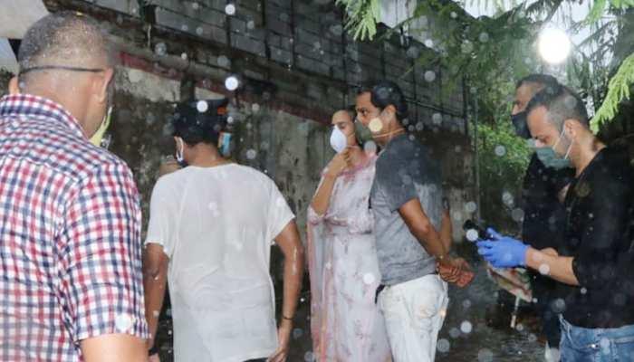 मुंबई में अदा की गईं सुशांत सिंह राजपूत की आखिरी रसूमात