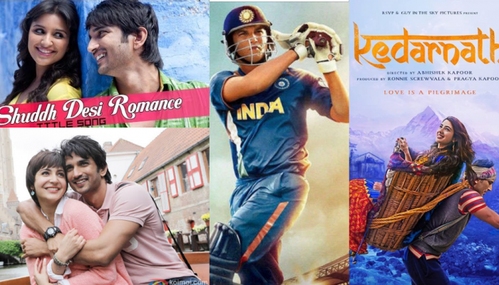 Sushant Singh Rajput highest-earning films at the box office see list