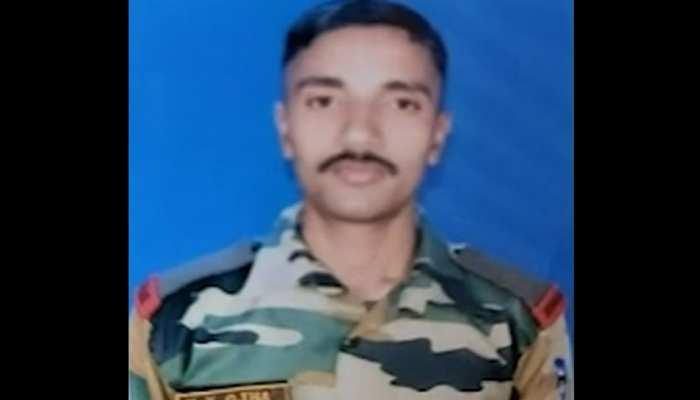 17 दिन की मासूम का चेहरा नहीं देख पाए शहीद जवान कुंदन, परिवार में मातम