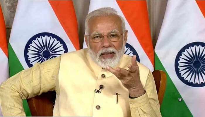 PM Modi ने अपने संसदीय क्षेत्र काशी का लिया जायजा, वीडियो कॉन्फ्रेंसिंग कर अधिकारियों और प्रतिनिधियों से बात की
