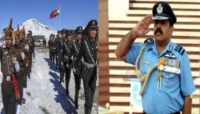 भारत चीन तनाव: वायुसेना प्रमुख ने सख्त शब्दों में दी ये चेतावनी