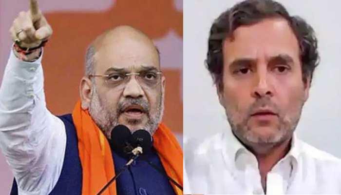 गृह मंत्री अमित शाह का राहुल गांधी को जवाब, कहा- राष्ट्रहित के लिए सस्ती राजनीति छोड़ें
