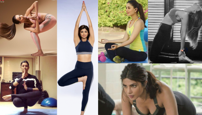 Bollywood Celebs celebrating International Yoga Day 2020, see pictures
