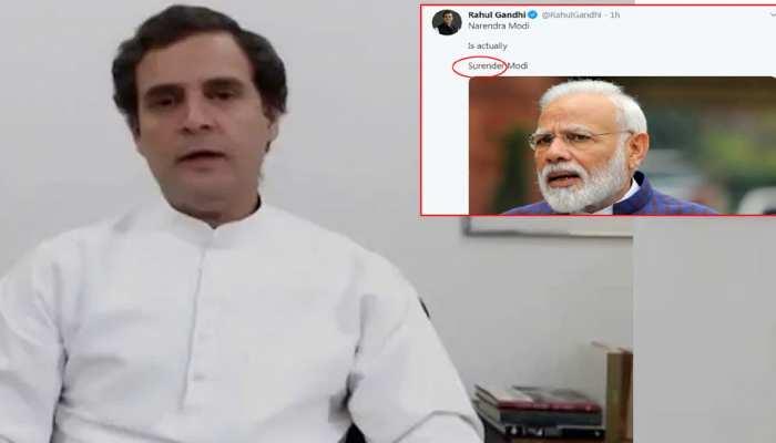 राहुल गांधी ने फिर की PM मोदी पर आपत्तिजनक टिप्पणी, लेकिन कर दी ये बड़ी गलती
