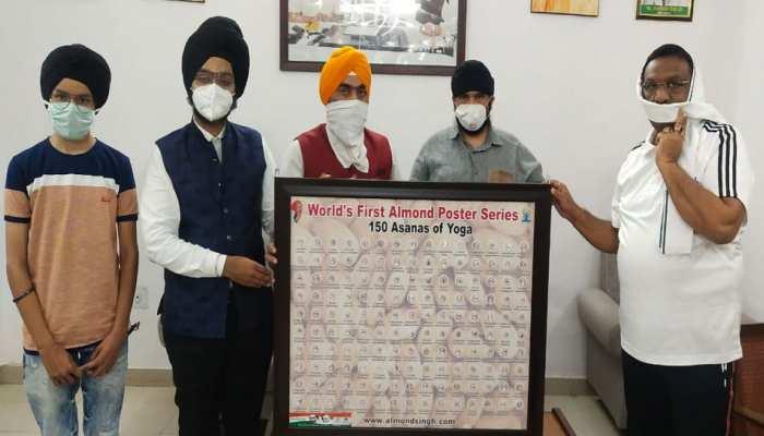 अंतरराष्ट्रीय योग दिवस पर विश्व की पहली आलमंड पोस्टर सीरीज, दर्शाए गए 150 से ज्यादा योगासन