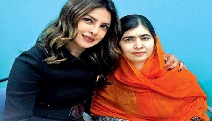 एक्ट्रेस Priyanka Chopra ने मलाला को आज किस बात की दी बधाई?