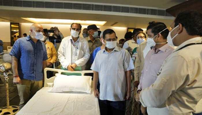 दिल्ली के बैंक्वेट हॉल में 100 बेड का कोरोना सेंटर शुरू, मरीजों को मिलेंगी ये सुविधाएं