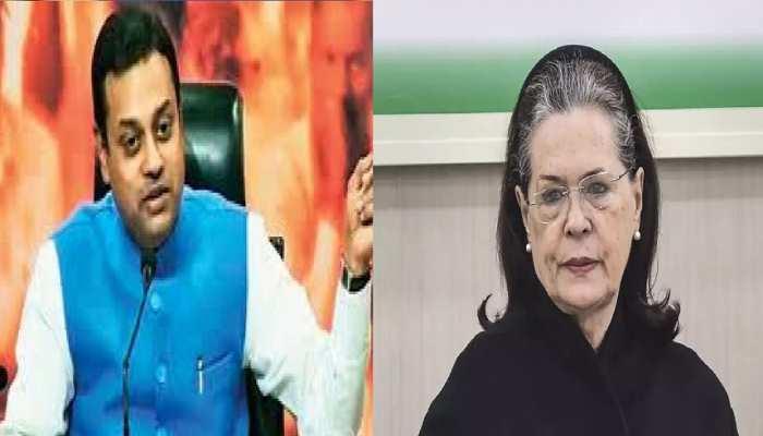 कांग्रेस पर बरसे संबित पात्रा, 'पूर्व मनमोहन सरकार में सोनिया गांधी थीं सुपर पीएम'