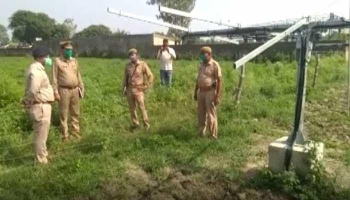 मुरादाबाद में चोरों के हौसले बुलंद, 6 महीने में दूसरी बार ले उड़े मंत्री के खेत में लगे सोलर पैनल