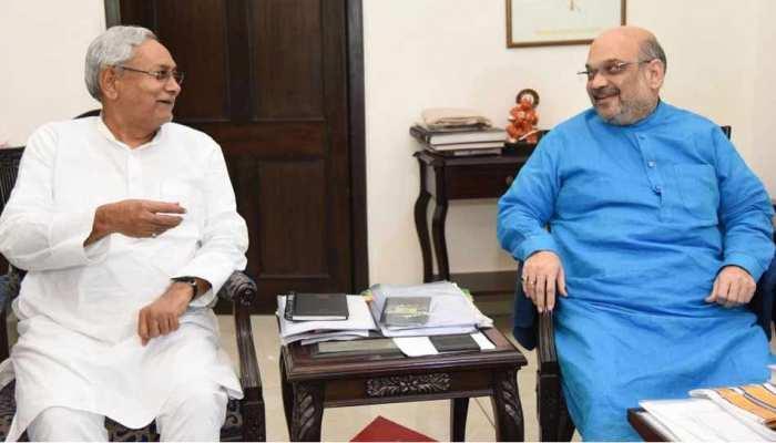 बाढ़ के मद्देनजर अमित शाह ने CM नीतीश से की बात, हरसंभव मदद का दिया आश्वासन