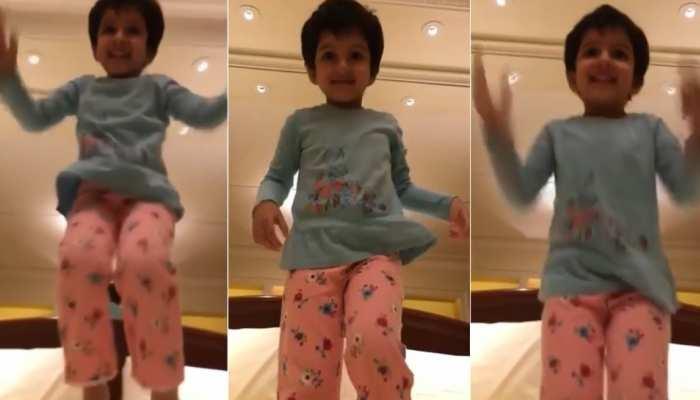वायरल हुआ Mahesh Babu की क्यूट बेटी का वीडियो, ये काम करती नजर आईंं सितारा