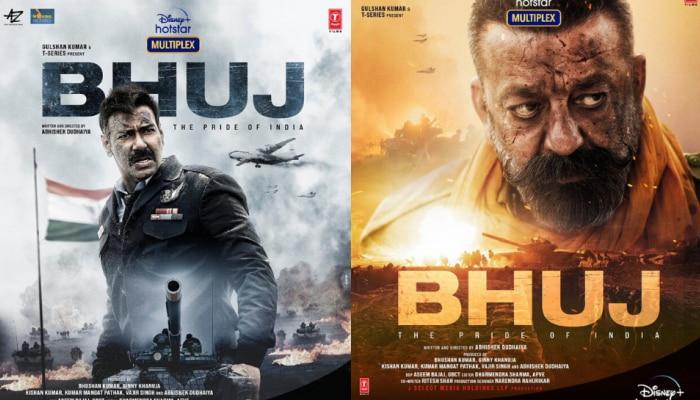 जबरदस्त है 'भुज: द प्राइड ऑफ इंडिया' का नया पोस्टर, OTT प्लेटफॉर्म पर रिलीज होगी फिल्म
