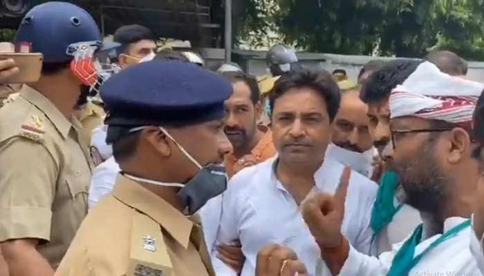 UP असेंबली का घेराव करने जा रहे कांग्रेसियों को पुलिस ने रोका, अजय लल्लू समेत कई हिरासत में