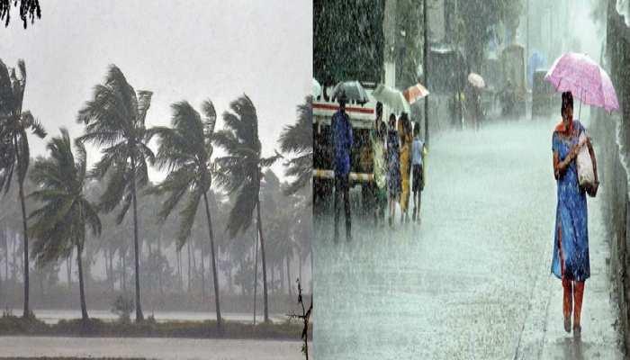 अगले पांच दिन इन राज्यों में होगी भारी बारिश, दिल्ली में होगी भीषण गर्मी