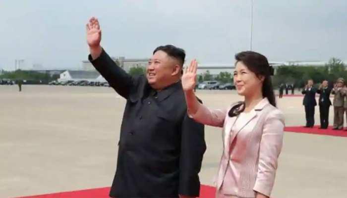 दक्षिण कोरिया ने 'लीफलेट वॉर' में किम जोंग की पत्नी को बनाया निशाना, भड़का उत्तर कोरिया