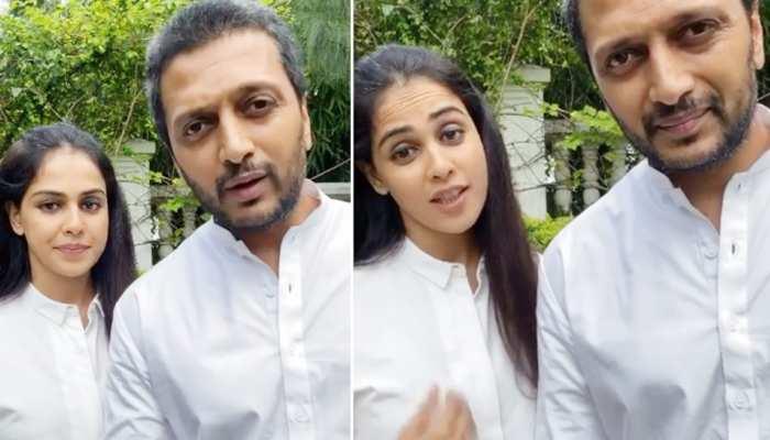 Riteish Deshmukh और Genelia के इस फैसले पर फिदा हुए लोग, वायरल हुआ VIDEO