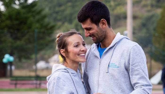 टेनिस फैंस के लिए Good News, नोवाक जोकोविच और उनकी पत्नी कोरोना टेस्ट में नेगेटिव