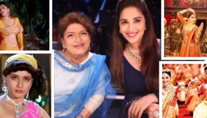 choreographer saroj khan created madhuri dixit iconic songs