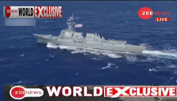 #ZeeNewsWorldExclusive: समंदर में चीन की घेरेबंदी, अंडमान में P8i एयरक्राफ्ट तैनात