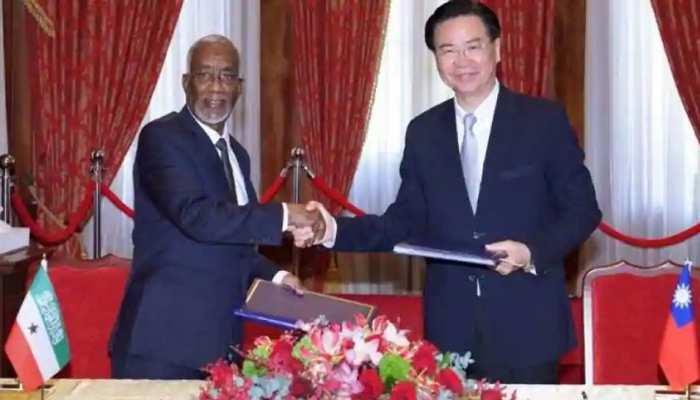 चीन को बड़ा झटका, सोमालीलैंड ने किया ताइवान से समझौता; बैकफुट पर 'ड्रैगन'