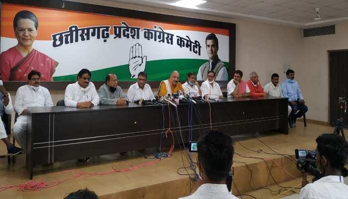 कांग्रेस का रमन सिंह पर आरोप, कहा- उनके कार्यकाल में CG बना देश का सबसे गरीब राज्य