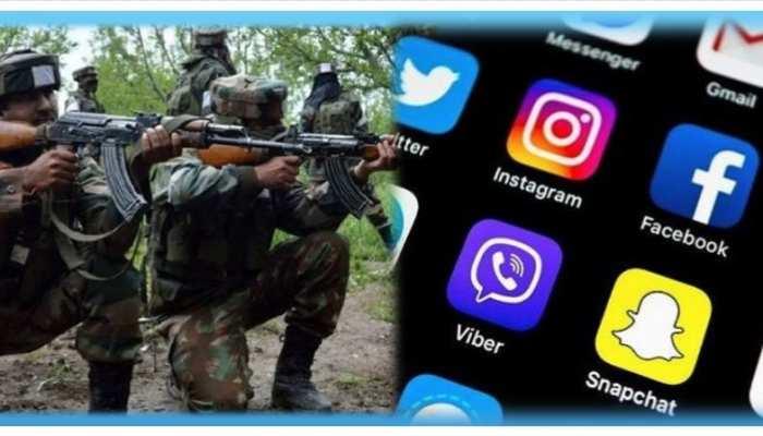 सेना ने कहा- अपने फोन से फेसबुक, टिंडर, पबजी डिलीट करें जवान