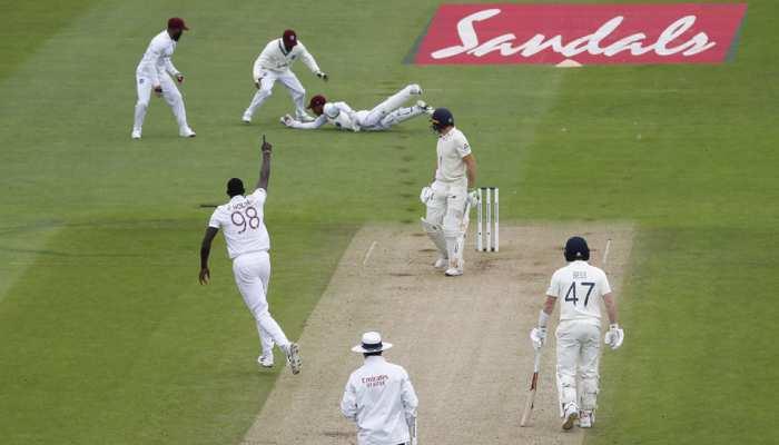 ENG vs WI: साउथैम्पटन टेस्ट में जेसन होल्डर के 'सिक्स' से ढेर हुई इंग्लैड टीम