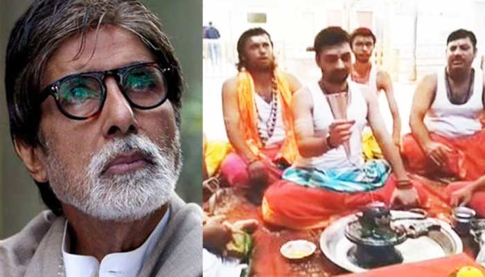 Worship started all over the country for Amitabh Bachchan's recovery, see PICS