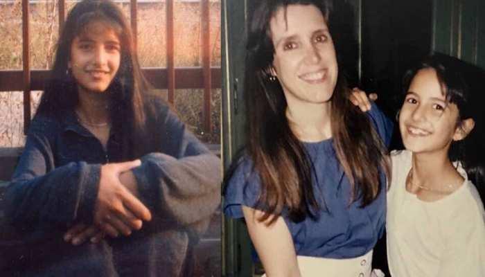 Unseen pics of her childhood on Katrina Kaif's birthday