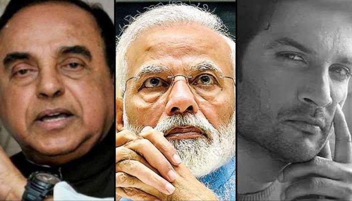 सुब्रमण्यम स्वामी ने फिर उठाई सुशांत मामले में CBI जांच की मांग, PM को लिखा लेटर