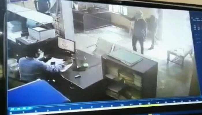 हनुमानगढ़: दिनदहाड़े बैंक में लूट, पुलिस ने किया पीछा फिर भी फरार हुए लुटेरे