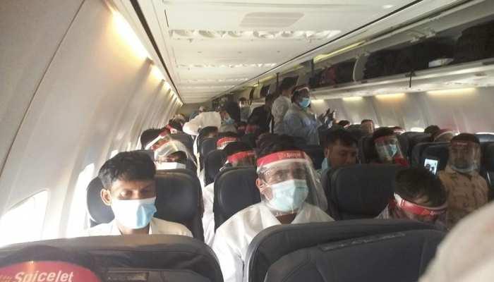 दुबई में फंसे झारखंड के 26 श्रमिकों की हुई वतन वापसी, कमरे में किया गया था कैद
