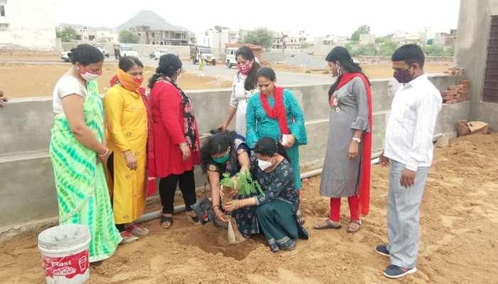 झुंझुनूं में शुरू हुआ अनूठा कार्यक्रम, हर घर में एक पौधा लगाने की कवायद