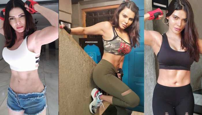 Sherlyn Chopra workout pictures went viral on internet
