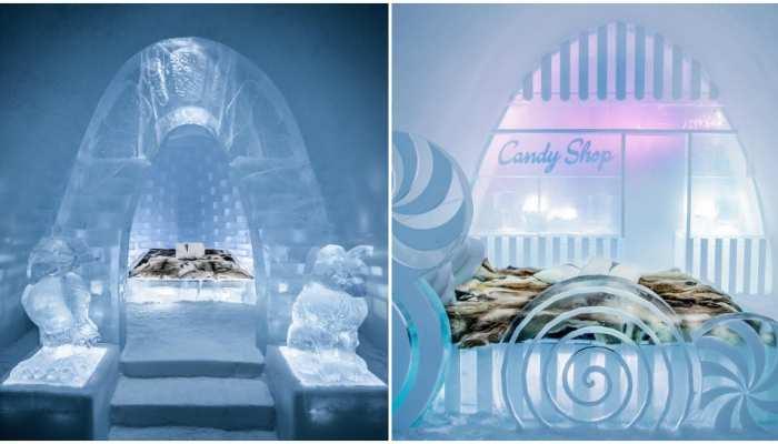 बर्फ से बना यह होटल मौसम बदलते ही पिघल जाता है, आकर्षण का विशेष केंद्र है 'आइस होटल'