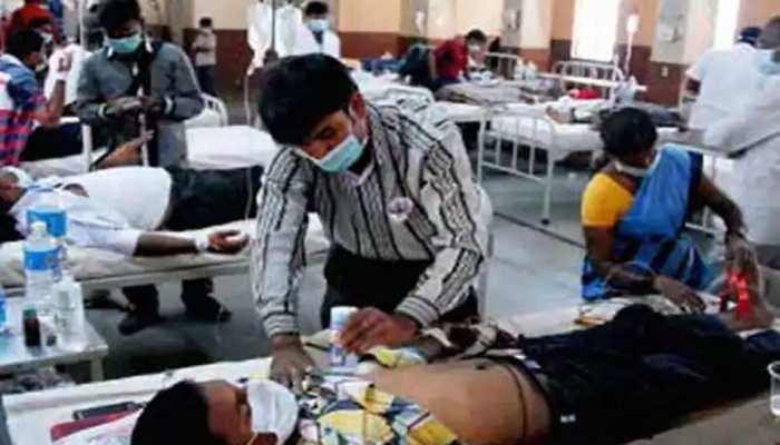 कोटा में कोविड अस्पताल में बेड हुए फुल, मेडिकल कॉलेज प्रशासन की फूली 'सांसें'