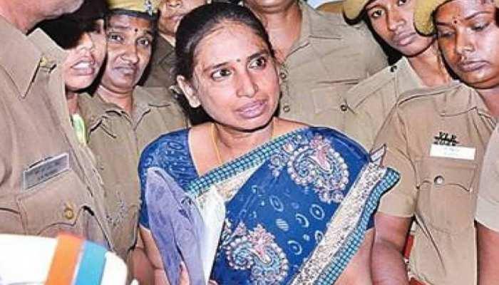 जेल में बंद राजीव गांधी की हत्या की दोषी ने की आत्महत्या करने की कोशिश