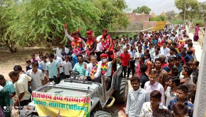 प्रकाश फुलवरिया जब राजस्थान में आया फर्स्ट, गांव में मनाया गया ऐसा जश्न