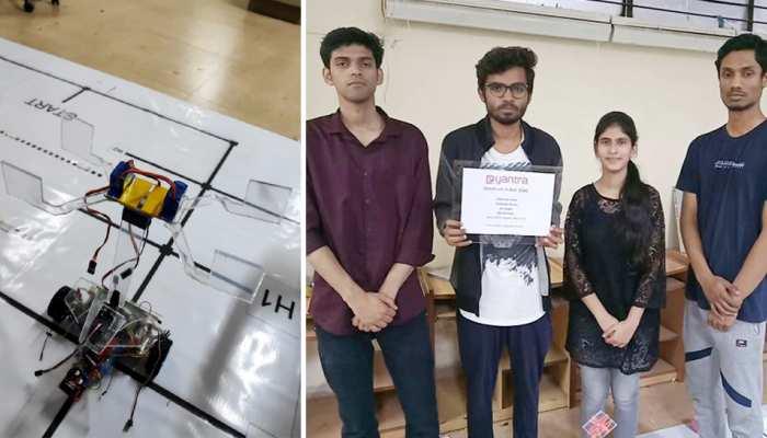 जामिया की टीम ने IIT बॉम्बे के ज़रिए मुनक्किद 'यंत्रा रोबोटिक्स मुकाबला' में हासिल की फतह
