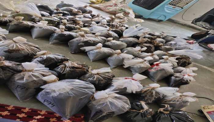 NCB ने बरामद की 233 किलो अफीम की खेप, 2 तस्कर अरेस्ट; यहां होनी थी सप्लाई