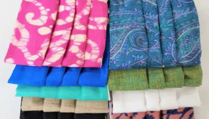 झारखंड: रांची में बने खादी के मास्क की बिहार तक है डिमांड, 40 महिलाओं को मिला रोजगार