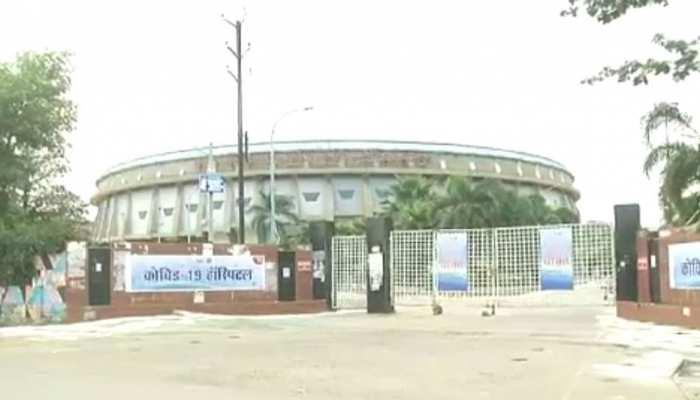 कोरोना के मरीजों के लिए खोला गया इंडोर स्टेडियम, केवल एसिम्टोमैटिक होंगे भर्ती
