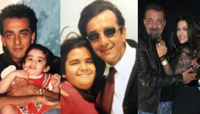 Sanjay Dutt and his daughter trishala throwback picture went viral