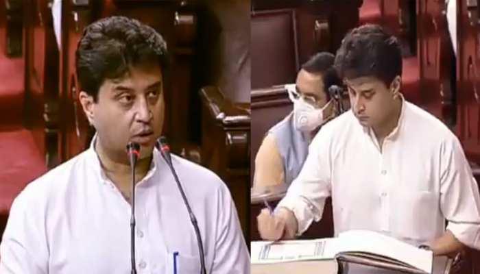 MP: ज्योतिरादित्य सिंधिया के राज्यसभा निर्वाचन को HC में चुनौती, एफिडेविट में तथ्य छिपाने का आरोप