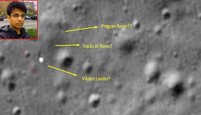 भारतीय इंजीनियर ने लैंडर विक्रम को चांद की सतह पर खोजा! नई तस्वीरों ने किया हैरान