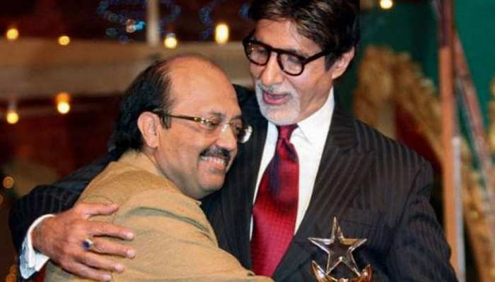 Never forgetting pictures of Amar Singh, from politics to cinema were so close