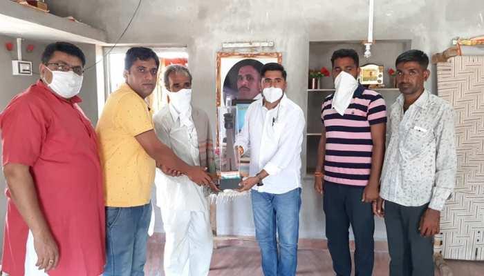 बाड़मेर: शहीदों के सम्मान के लिए आगे आई ये संस्था, परिजनों को इस तरह दे रही संबल