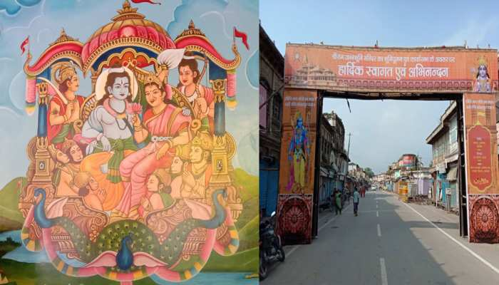 Exclusive photos Ayodhya adorned before Ram Mandir Bhumipujan on 5 August